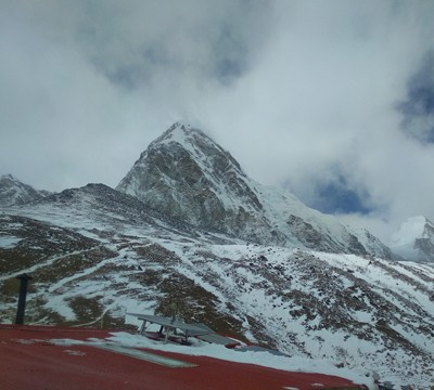 High pass Trek view