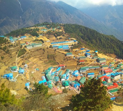 Village in Everest