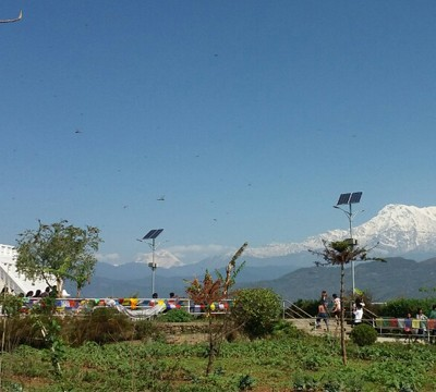 view in Pokhara