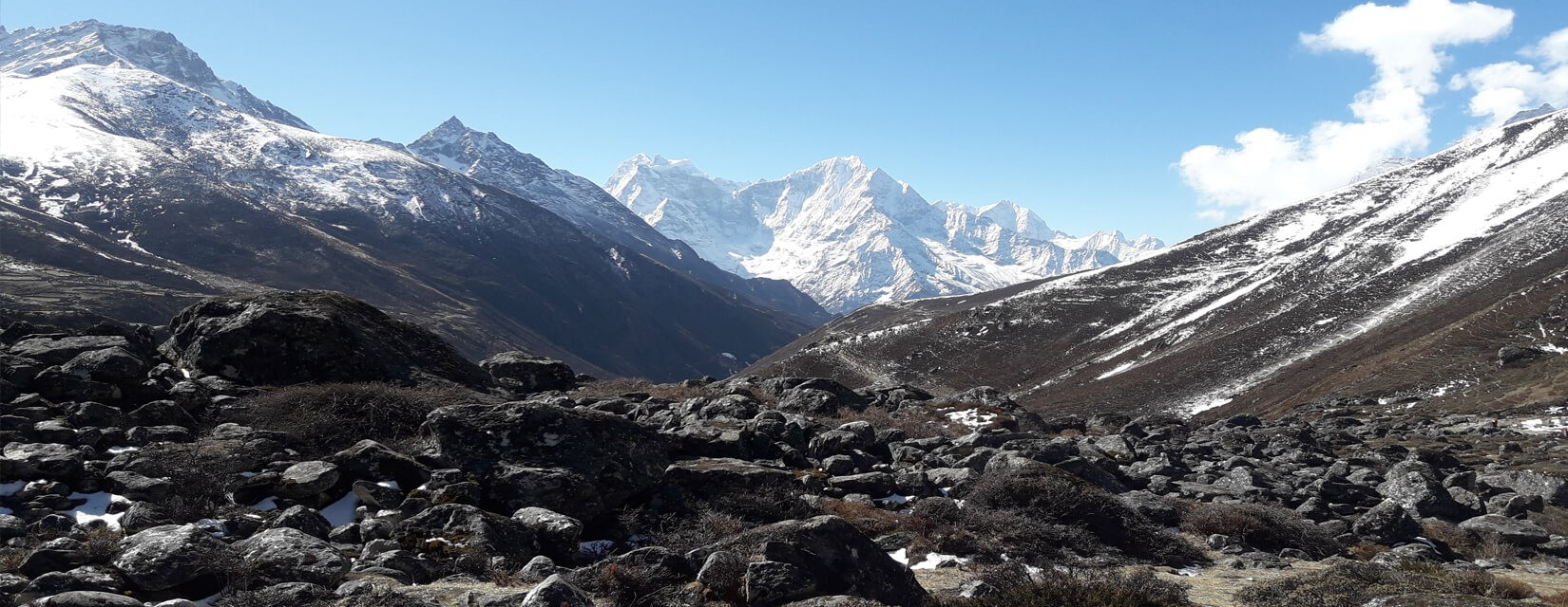 Cho la pass - Everest