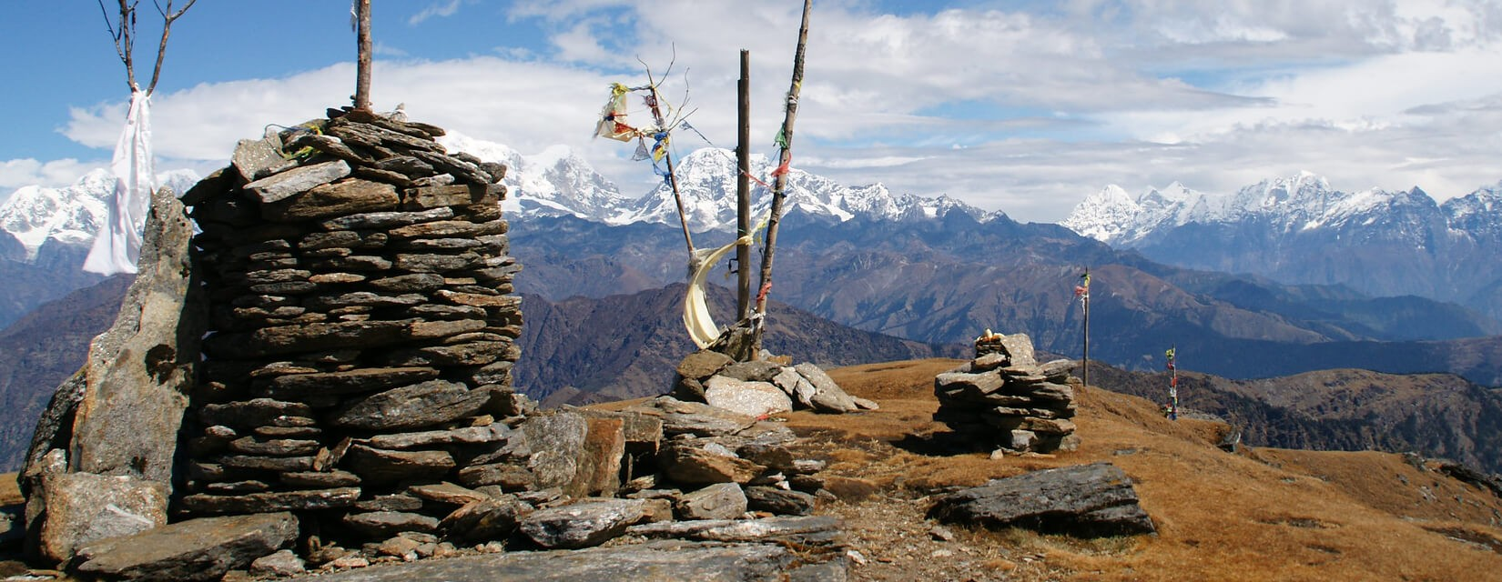 Pikey Peak View - Winter Trek in Nepal